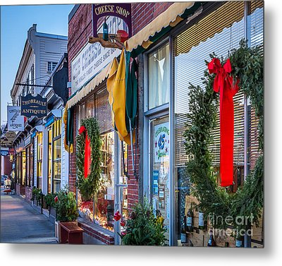 Walden Street In Concord Metal Print by Susan Cole Kelly