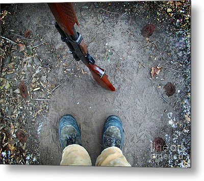 Walk A Mile In My Shoes Metal Print by The Stone Age