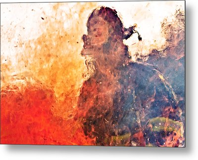 Walk Through Hell Metal Print by Everet Regal