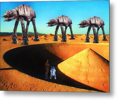 Walkers Metal Print by Todd and candice Dailey
