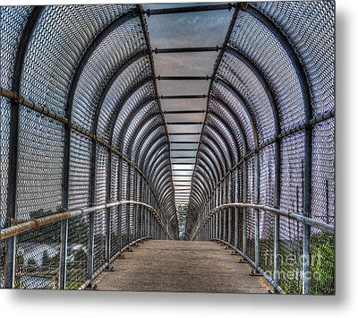 Walkover Metal Print by MJ Olsen