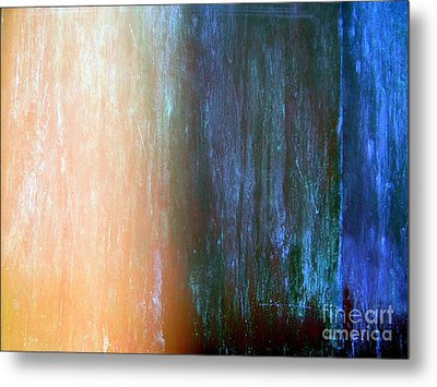 Wall Abstract Metal Print by Ed Weidman