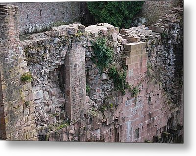 Wall Through Time Metal Print by Laura Watts