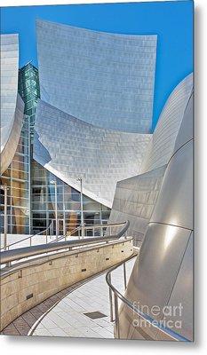 Walt Disney Concert Hall Los Angeles Ca 2 Metal Print by David Zanzinger