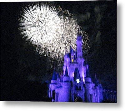 Walt Disney World Resort - Magic Kingdom - 121279 Metal Print by DC Photographer