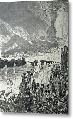 War 1910 Metal Print by Max Klinger