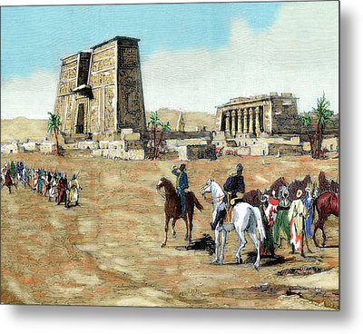 War In Egypt The Emissaries Of Arabi Metal Print by Prisma Archivo