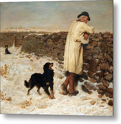 War Time Metal Print by Briton Riviere