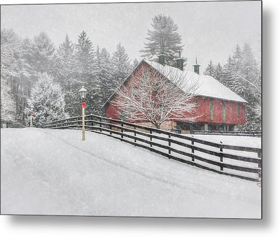 Warmest Holiday Wishes Metal Print by Lori Deiter