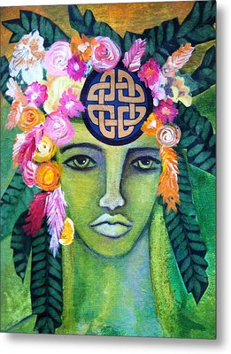 Warrior Goddess Metal Print by Tracie Hanson