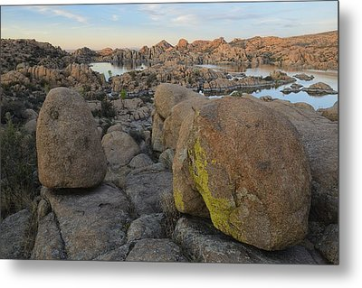 Warson Lake Metal Print by Christian Heeb