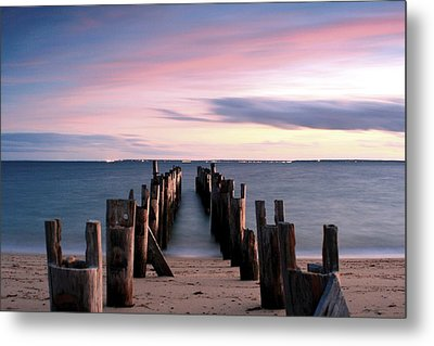 Washed Away Metal Print by Matthew Grice