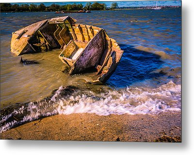 Washed Up Metal Print by Dawn OConnor