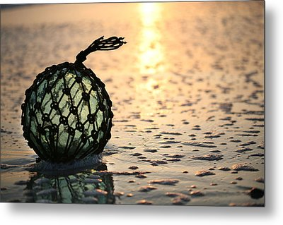 Washed Up Metal Print by JC Findley
