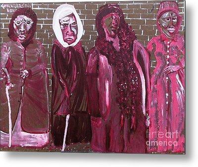 Washington Dc Henderson Memorial Ladies  Metal Print by Leslie Byrne