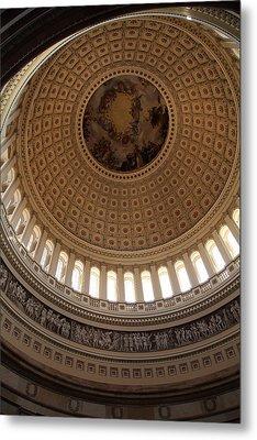 Washington Dc - Us Capitol - 011314 Metal Print by DC Photographer
