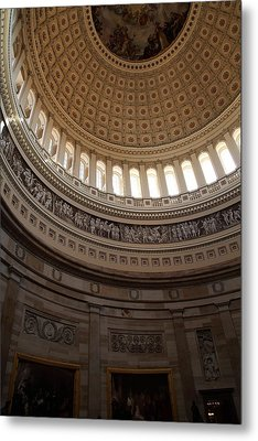 Washington Dc - Us Capitol - 01139 Metal Print by DC Photographer