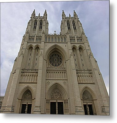 Washington National Cathedral - Washington Dc - 01131 Metal Print by DC Photographer