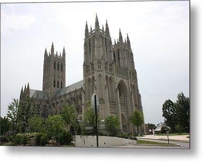 Washington National Cathedral - Washington Dc - 0113112 Metal Print by DC Photographer