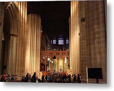 Washington National Cathedral - Washington Dc - 011335 Metal Print by DC Photographer