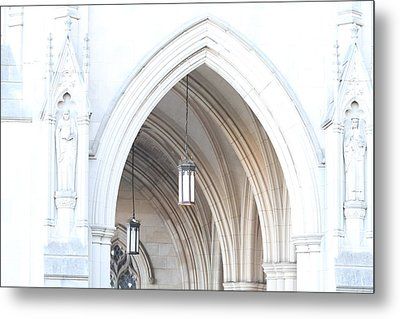 Washington National Cathedral - Washington Dc - 01138 Metal Print by DC Photographer
