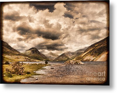 Wast Water Lake District England Metal Print by Colin and Linda McKie