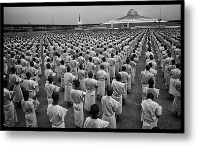 Wat Dhamma 1 Metal Print by David Longstreath