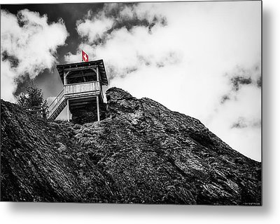 Watch Tower Metal Print by Ryan Wyckoff