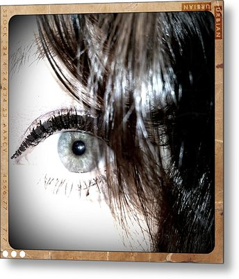 Watching Metal Print by Heather L Wright
