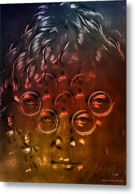 Watching The Wheels Metal Print by Pedro L Gili