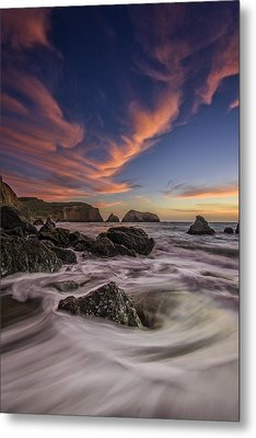 Water And Fire Metal Print by Rick Berk