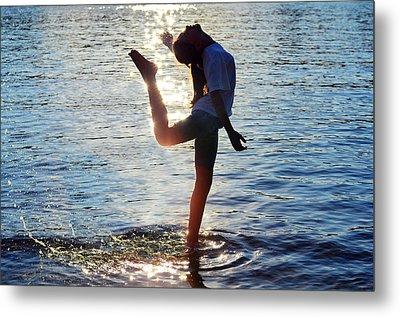 Water Dancer Metal Print by Laura Fasulo