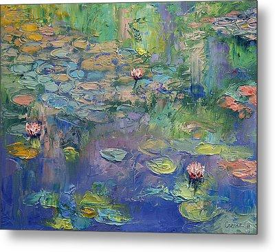 Water Garden Metal Print by Michael Creese