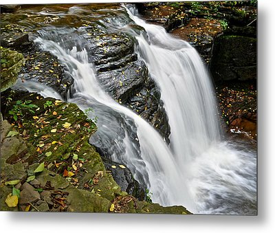 Water Rushes Forth Metal Print by Frozen in Time Fine Art Photography