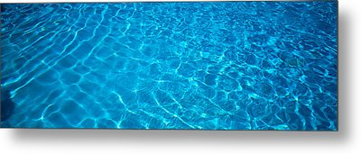 Water Swimming Pool Mexico Metal Print by Panoramic Images