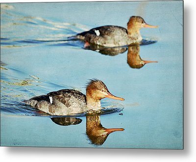 Watercolors In Nature 4 Metal Print by Fraida Gutovich