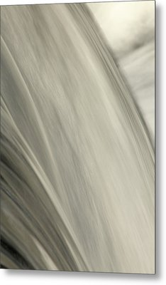 Waterfall Abstract Metal Print by Karol Livote