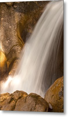 Waterfall No.3 Metal Print by Daniel Csoka