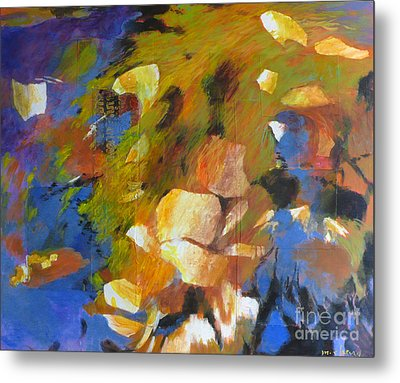 Water's Edge Metal Print by Melody Cleary