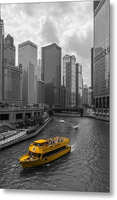 Watertaxi Metal Print by Clay Townsend