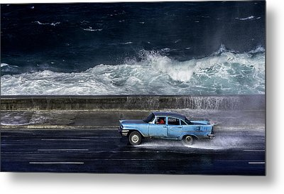 Wave  Driver Metal Print by Alper