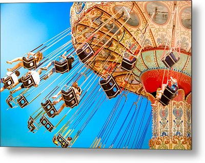 Wave Swinger  Metal Print by Colleen Kammerer