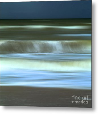 Waves Metal Print by Bernard Jaubert