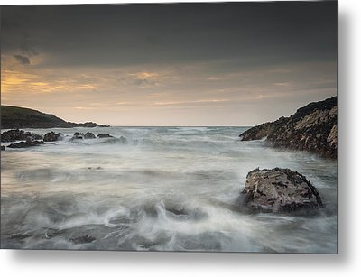 Waves In Motion Metal Print by Andy Astbury
