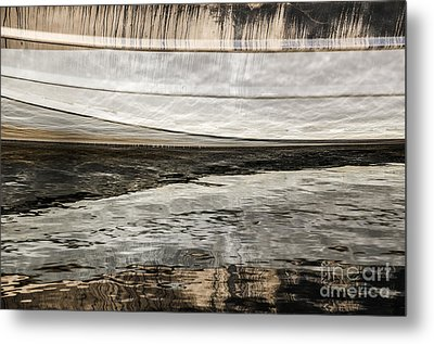 Wavy Reflections Metal Print by Sue Smith