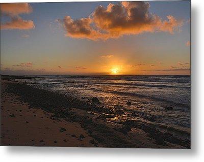 Wawamalu Beach Sunrise - Oahu Hawaii Metal Print by Brian Harig