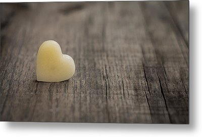 Wax Heart Metal Print by Aged Pixel
