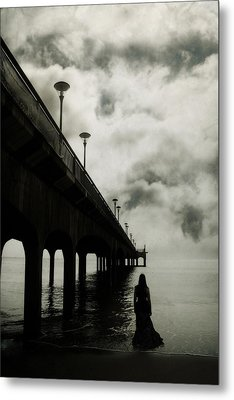 We Who Fell In Love With The Sea Metal Print by Cambion Art