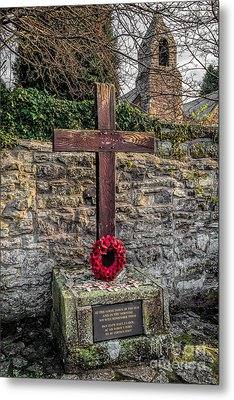 We Will Remember Metal Print by Adrian Evans