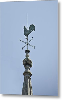 Weather Vane - New York City Metal Print by Bill Cannon